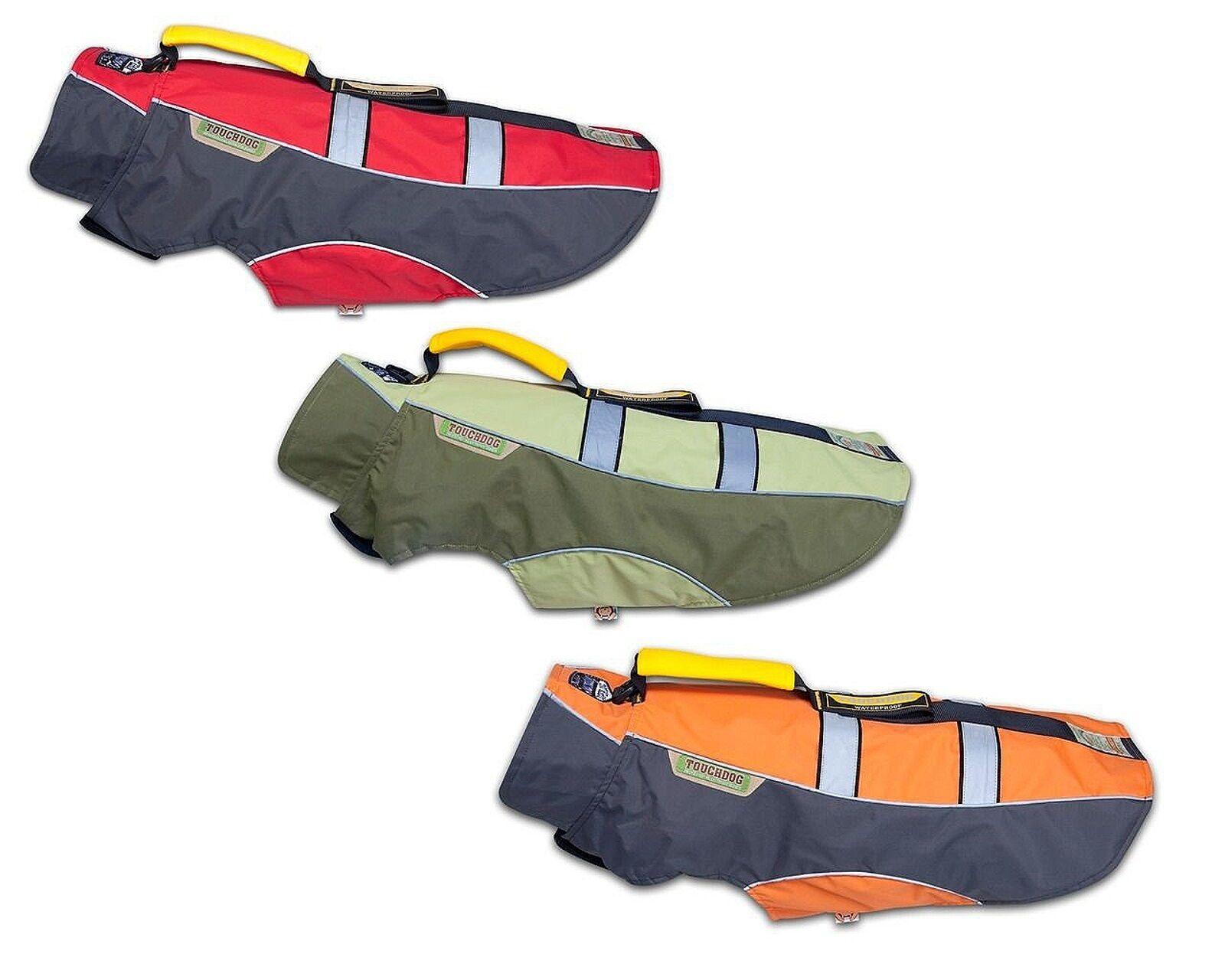 Karlie Touchdog Outdoormantel mit Griff für Hündinnen und Rüden L: 40 - 47cm