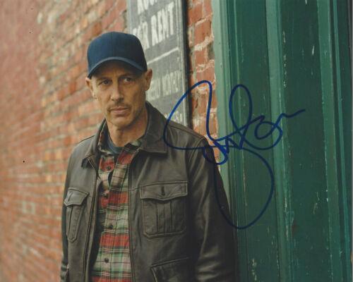 JON GRIES SIGNED AUTHENTIC 'SUPERNATURAL' MARTIN 8x10 PHOTO B w/COA TV ACTOR
