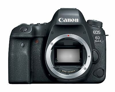 Canon EOS 6D Mark II Digital SLR Camera Body   Wi-Fi Enabled