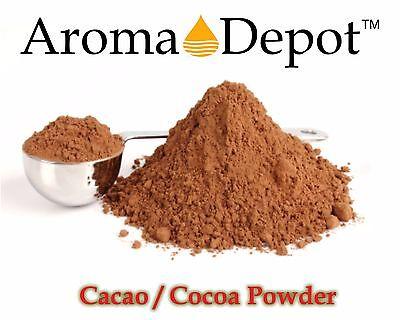 Raw Cacao / Cocoa Powder 100% Bulk Chocolate 4 oz to 20 lb Arriba Nacional Bean Raw Cacao Bean