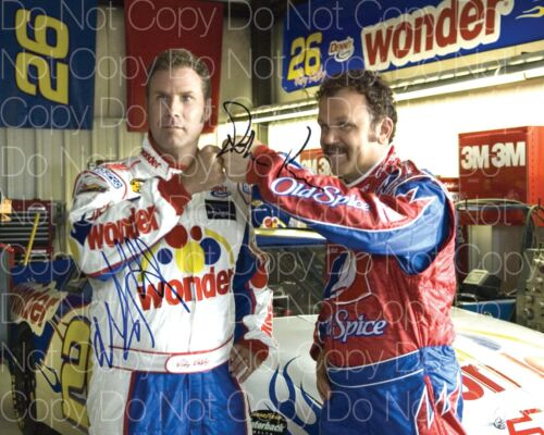 Talladega Nights signed 8X10 inch print photo picture poster autograph RP