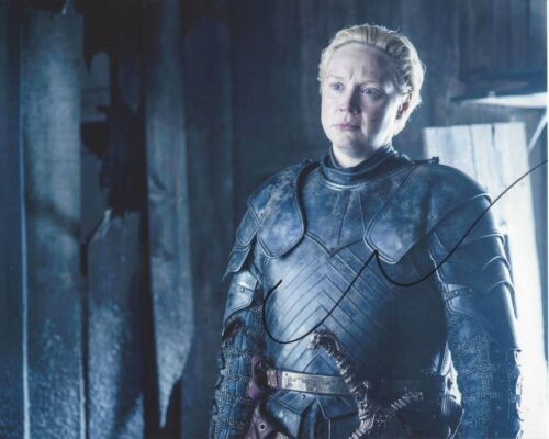 ACTRESS GWENDOLINE CHRISTIE SIGNED GAME OF THRONES 8x10 PHOTO W/COA STAR WARS