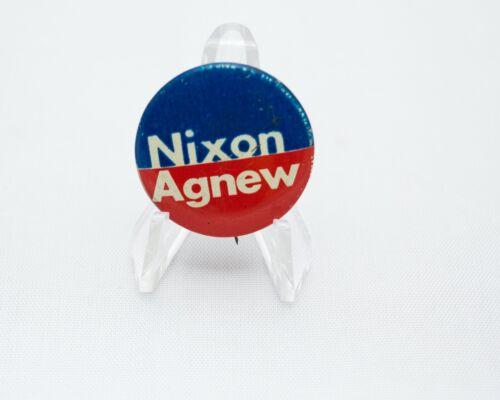 Vintage Nixon Agnew Campaign Political Campaign Button Pin