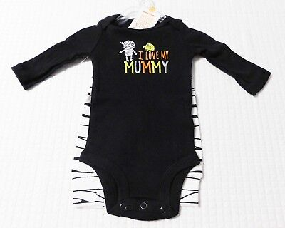 Halloween Carters Love My Mummy Infant Outfit (SIZE Newborn - 12 Months) NEW!](Carters Halloween Outfits)