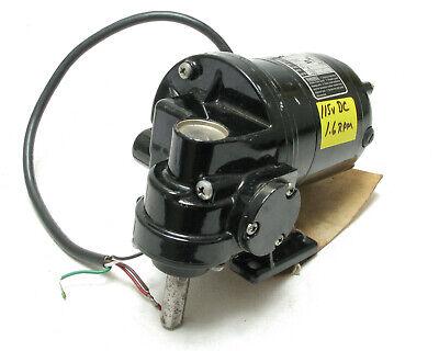 Bodine Nsh-12rg 115 Vdc 150hp 1.6rpm Gear Motor