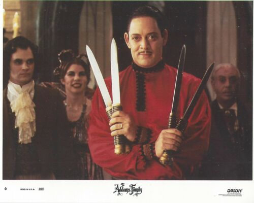 Addams Family Original 8x10 Lobby Card Poster 1991 Photo #6 Raul Julia