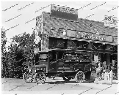 Vintage photo-Ford Cargo Truck-Hardware Store-8x10 (Cargo Store)