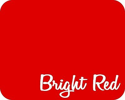 20 X 5 Yards 15 Ft - Stahls Stretch Heat Transfer Vinyl Htv - Bright Red