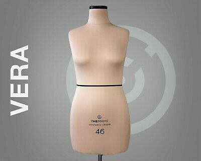 Vera Professional Anatomic Sewing Mannequin Soft Dress Form Tailor Dummy