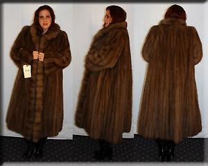 New-Moschino-Couture-Russian-Sable-Fur-Coat-Size-Large-10-12-L-Efurs4less