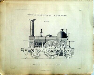 BOOK OF ENGRAVINGS ILLUSTRATING THE LOCOMOTIVE ENGINE – 1856