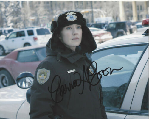CARRIE COON HAND SIGNED AUTHENTIC 'FARGO' 8x10 SHOW PHOTO w/COA TV ACTRESS