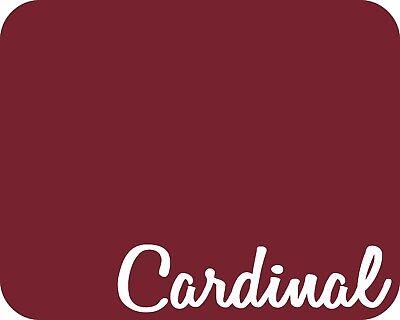 15 X 5 Yards - Stahls Fashion-lite Heat Transfer Vinyl Htv - Cardinal Red