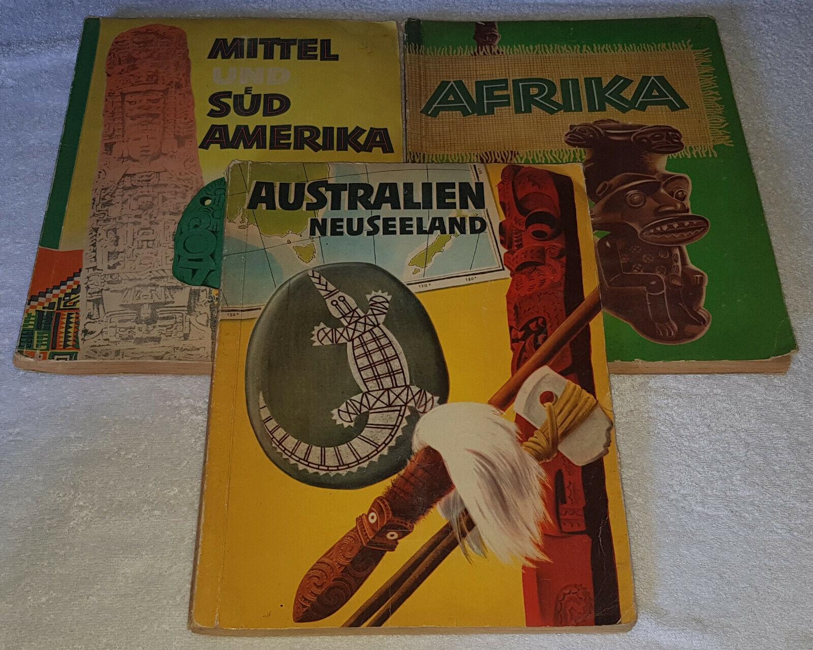 Sanella Australien und Neuseeland Mittel und Südamerika Afrika 1952 komplett