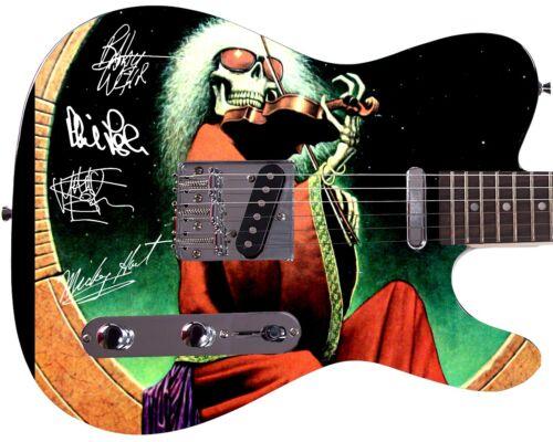 Grateful Dead Autographed Violin Cover Album LP CD DVD Photo Guitar