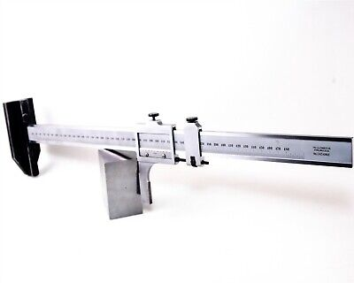 Starrett 18 In 500mm Height Gage Metric And Standard No. C454 Me