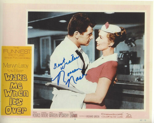 NOREEN NASH SIGNED AUTHENTIC PHANTOM FROM SPACE 8X10 PHOTO 1 w/COA ACTRESS GIANT