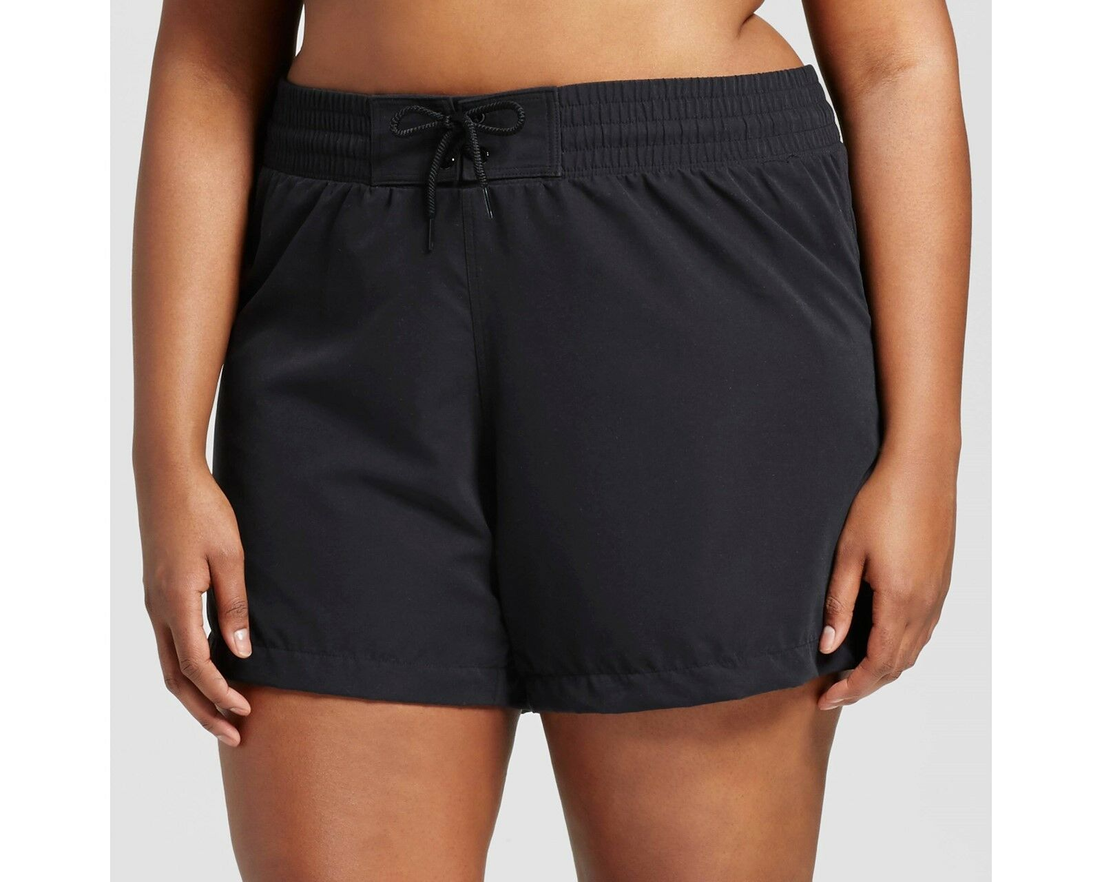 Ava /& Viv Swim Shorts Black Bottoms Women/'s Plus Size 24W//26W