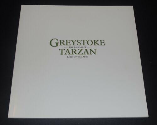 GREYSTOKE THE LEGEND OF TARZAN Deluxe Program 1983 Christopher Lambert RARE