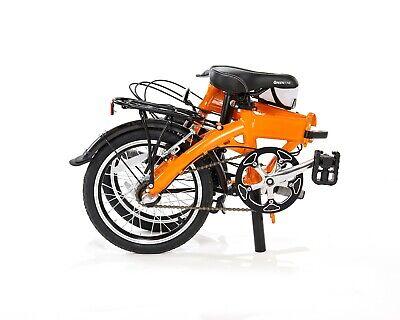 "16"" ALLOY LIGHTWEIGHT FOLDING BIKE COMMUTER BIKES BICYCLES FREE BICYCLE BIKE BAG"