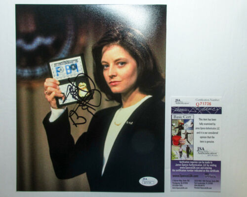 Jodie Foster Signed Autographed 'Silence of the Lambs' 8x10 Photo JSA D