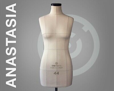 Anastasia Soft Dress Form Soft Mannequin For Sewing Pinnable Tailor Dummy