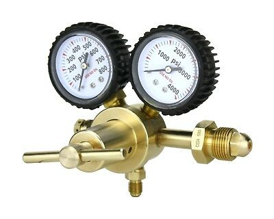 Nitrogen Gas Regulator 0-600 Psig - Hvac Purging - Pressure Charge - Sa