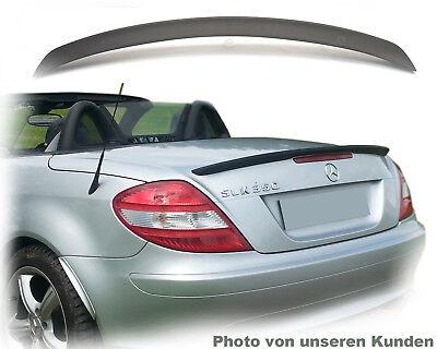 für Mercedes slk tuning r 171 spoiler heckspoiler lippe Obsidian Schwarz 197 neu