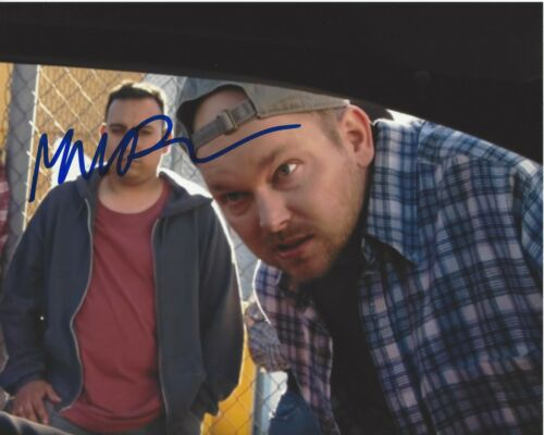 ACTOR MARK PROKSCH SIGNED THE OFFICE 8x10 PHOTO F COA NATE CHARACTER CAST PROOF