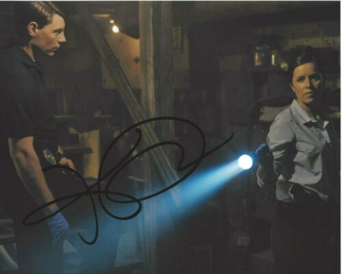 ACTRESS KIM DICKENS SIGNED GONE GIRL 8x10 MOVIE PHOTO COA FEAR THE WALKING DEAD