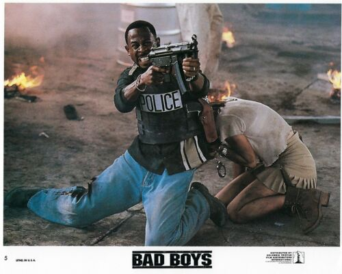 Bad Boys Original 8x10 Lobby Card Poster Photo 1995 Smith Lawrence Leoni #5