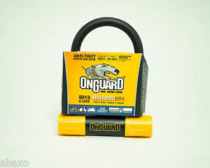 ONGUARD BULLDOG 8013 MINI BIKE U-LOCK 8013M