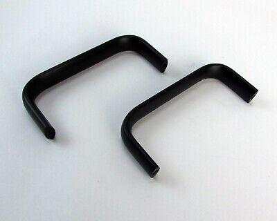 Pair Of Test Equipment Milspec Black Aluminum Handles - 4 X 1.75 Nos
