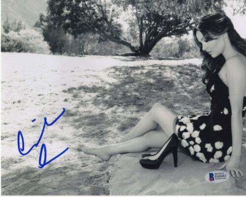 CAMILLA LUDDINGTON SIGNED PHOTO GREY'S ANATOMY 8x10 AUTOGRAPH LEGS FEET BAS COA