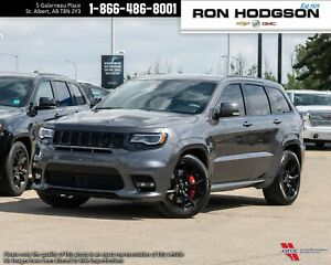 2018 Jeep Grand Cherokee SRT ROOF LTHR/SUEDE LOADED LOW KM