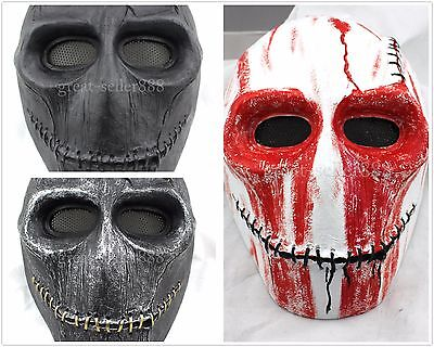 The Treasure Hunter Full Face Mask Halloween Costume Party Helmet Pro - Demon Hunter Halloween Costume