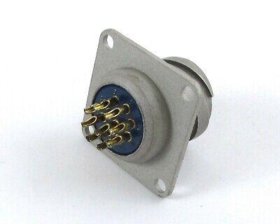 Lot Of 29 Amphenol Connectors 67-02e14-9p Test Equipment Hp Tek 9 Solder Pin