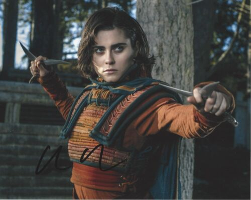 ACTRESS ALLY IOANNIDES SIGNED 8x10 PHOTO w/COA INTO THE BADLANDS PARENTHOOD