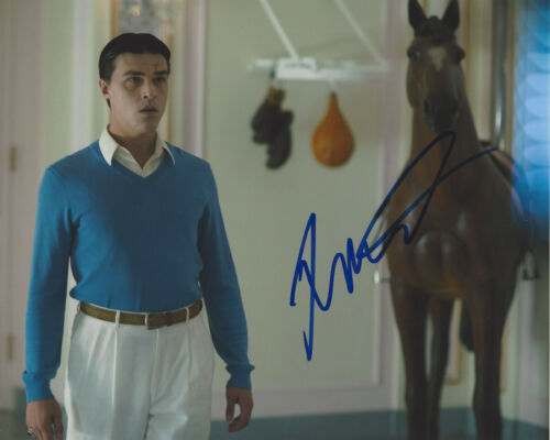 FINN WITTROCK SIGNED AUTHENTIC 'JUDY' MICKEY DEANS 8x10 PHOTO B w/COA ACTOR