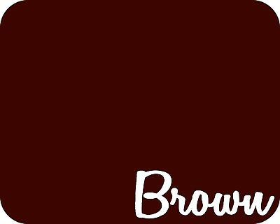 15 X 5 Yards - Stahls Fashion-lite Heat Transfer Vinyl Htv - Brown