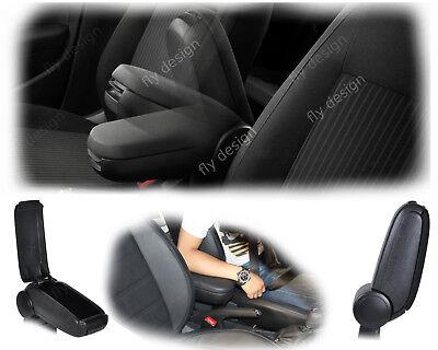 Golf IV 4 Apoyabrazos Central Veces Reposabrazos Resto Del Brazo Textil Negro