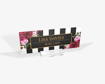 Desk Name Plate Office Sign Office Supply Personalized Secretary Sign Custo