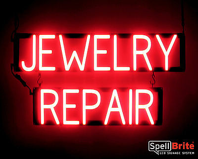 Spellbrite Ultra-bright Jewelry Repair Sign Neon-led Sign Neon Look Led Power