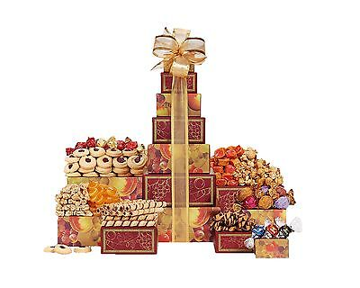 Wine Country Gift Baskets Tower Of Sweets   New Free Shipping