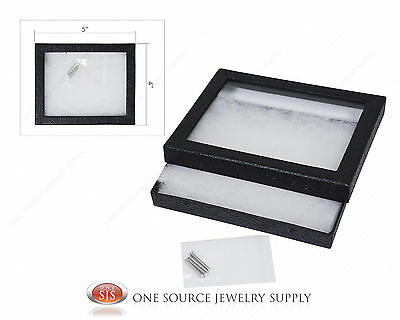 "New Riker Display Mounting Cases Riker Box Riker Display Case Small 5"" x 4"""