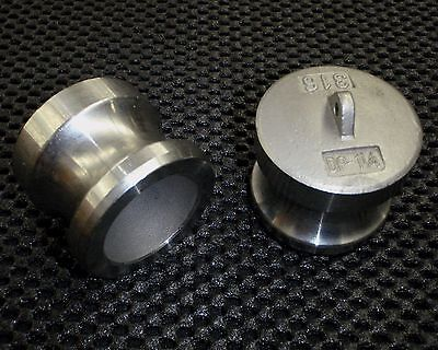 Stainless Steel Cam Lock Adapter Plug 1 14 Male Seal Clp-125
