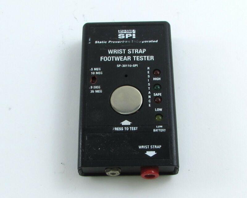 Static Prevention Incorporated (SPI) SP-30110-SPI, Wrist Strap Footwear Tester