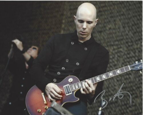 GUITARIST BILLY HOWERDEL SIGNED 8x10 PHOTO 4 w/COA A PERFECT CIRCLE ASHES DIVIDE