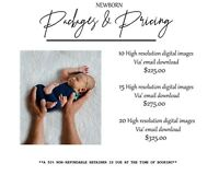 Professional, affordable newborn photography