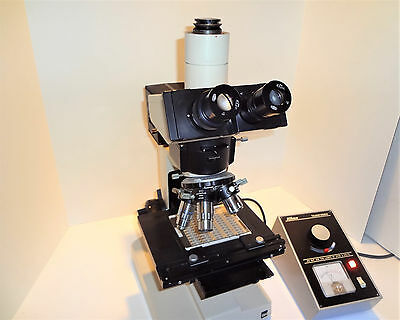 Olympus Bh Brightfield Ic Reflected Light Metallurgical Microscope Complete